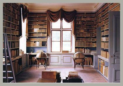 Шторы для библиотеки