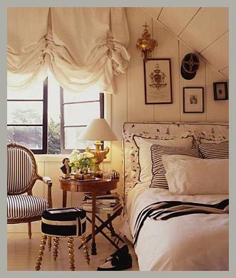 Лондонские шторы в коттедж