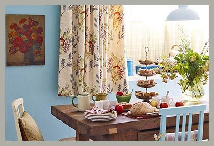 Ткани для штор на кухню
