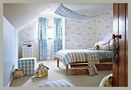 Комната для мальчика c корабликами by Harlequin