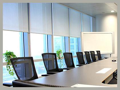 Ролл-шторы для офиса