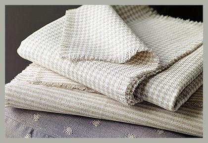 Ткань с орнаментом гусиная лапка by Sanderson