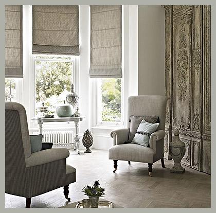 Однотонные римские шторы by Prestigious Textiles