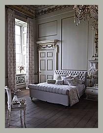 Необычные шторы для спальни by Prestigious Textiles