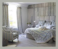 Шторы и покрывала в спальню by Prestigious Textiles