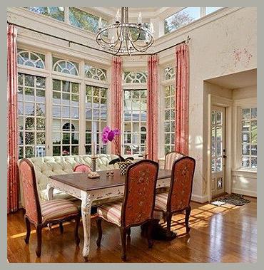 Дизайн и пошив штор на веранду