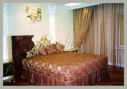 Шторы в спальню Арт-деко